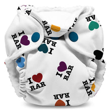 Load image into Gallery viewer, Lil Joey All In One Cloth Diaper (2 pk) - I Love RAR