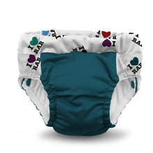 Load image into Gallery viewer, Lil Learnerz Training Pants & Swim Diaper (2pk) - I Love RAR