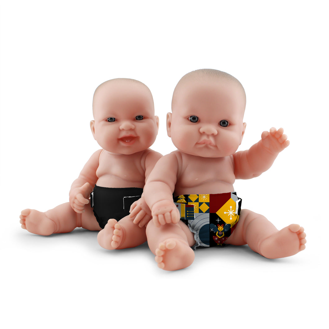 Rumparooz Doll Diapers (2 pk) - Hans + Scarlet