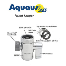 Load image into Gallery viewer, Aquaus 360:: Cloth Diaper Sprayer (faucet hookup)