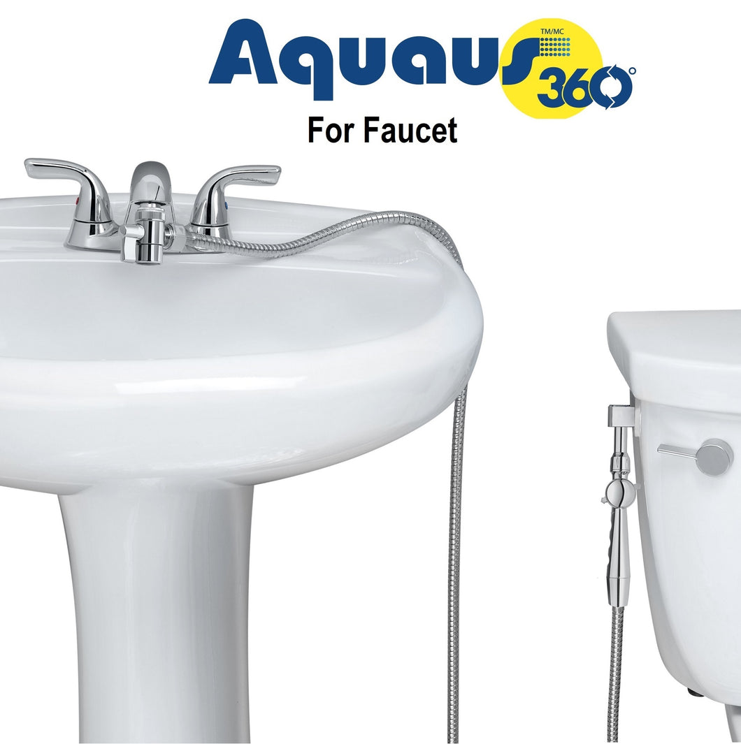 Aquaus 360:: Cloth Diaper Sprayer (faucet hookup)