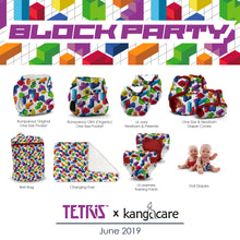 Load image into Gallery viewer, Tetris x Kanga Care :: Changing Pad - Block Party