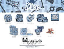 Load image into Gallery viewer, Rumparooz One Size Cloth Diaper Covers - Wonderland :: Alice
