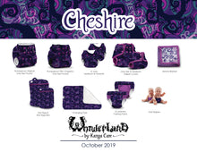 Load image into Gallery viewer, Lil Joey All In One Cloth Diaper (2 pk) - Wonderland :: Cheshire