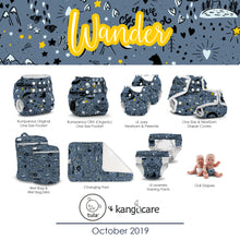 Load image into Gallery viewer, Kanga Care Wet Bag - Tula + Kanga Care :: Wander
