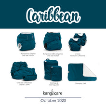 Load image into Gallery viewer, Kanga Care Wet Bag Mini - Caribbean