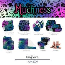 Load image into Gallery viewer, Kanga Care Serene Reversible Blanket - Wonderland :: Muchness