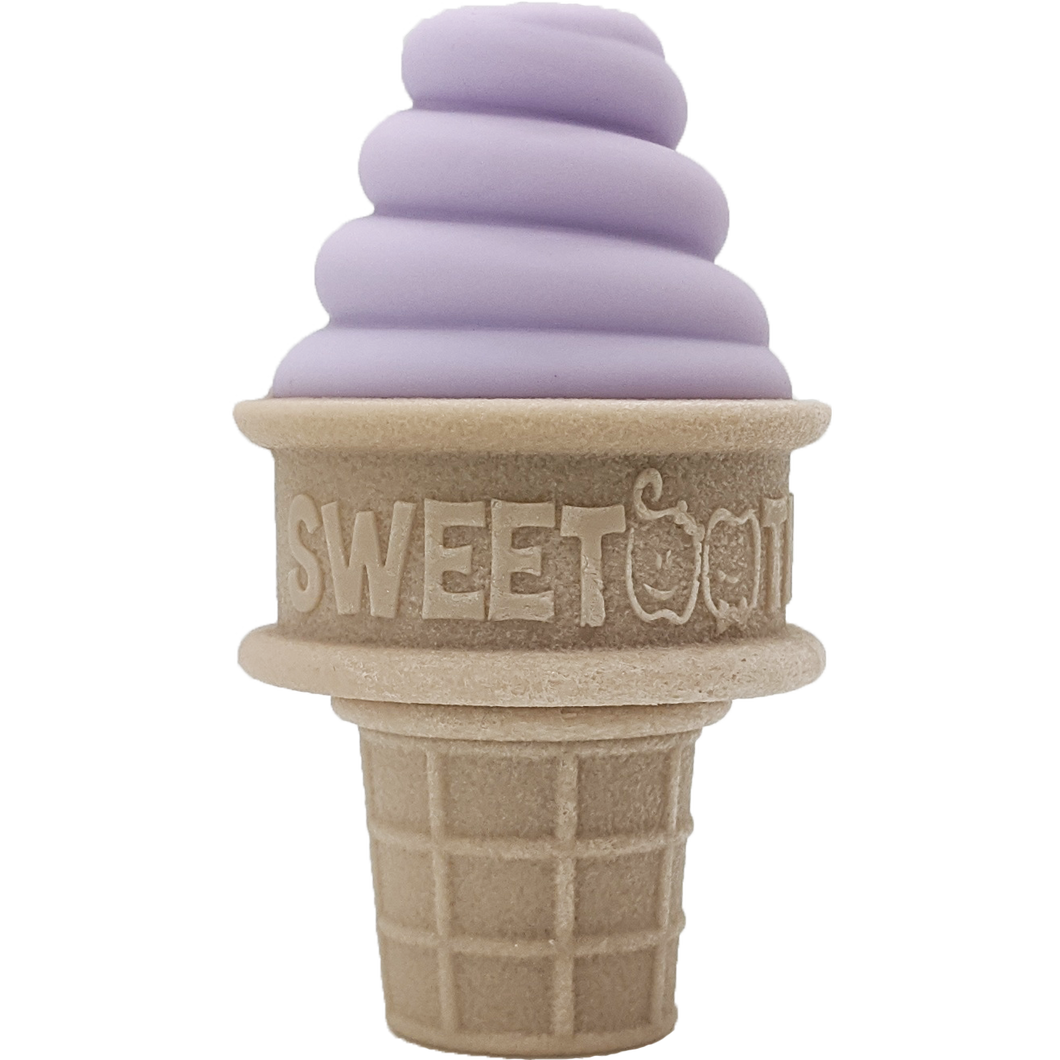 SweeTooth Ice Cream Teether :: Lovely Lilac
