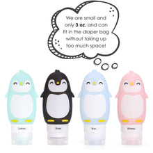 Load image into Gallery viewer, Kanga Care Travel Buddiez - Penguin Family (4 pack)
