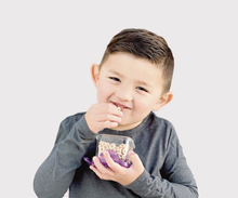 Load image into Gallery viewer, Wean Green :: Wean Snack Cube (7oz) - Grape