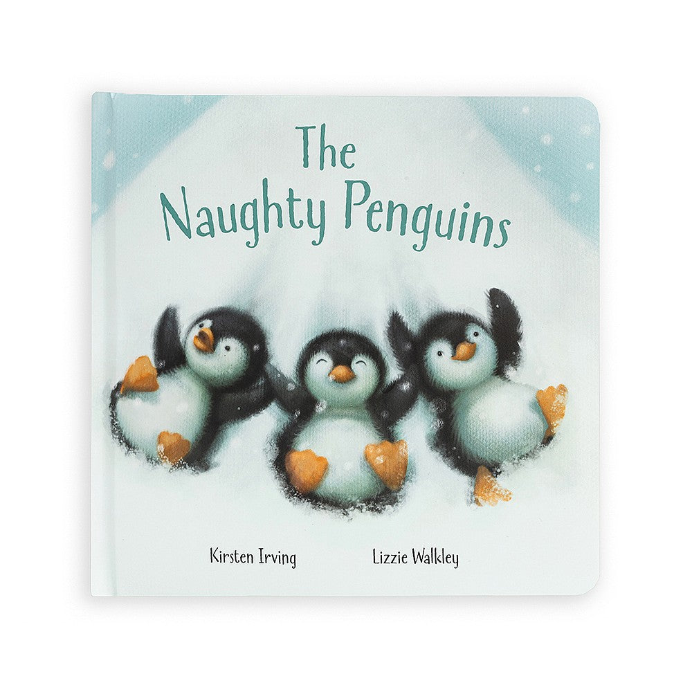Jellycat Library :: The Naughty Penguins Book (6