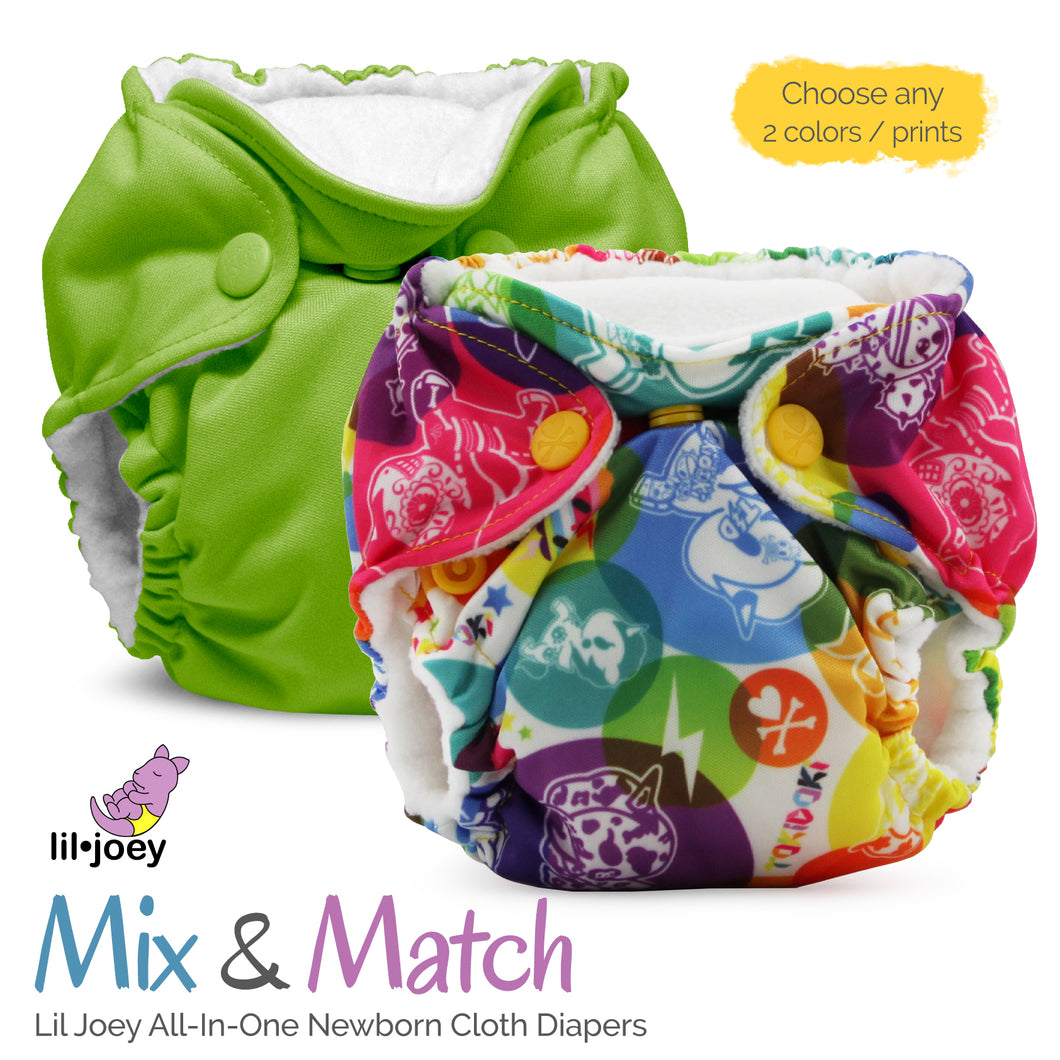 Lil Joey All-In-One Cloth Diapers