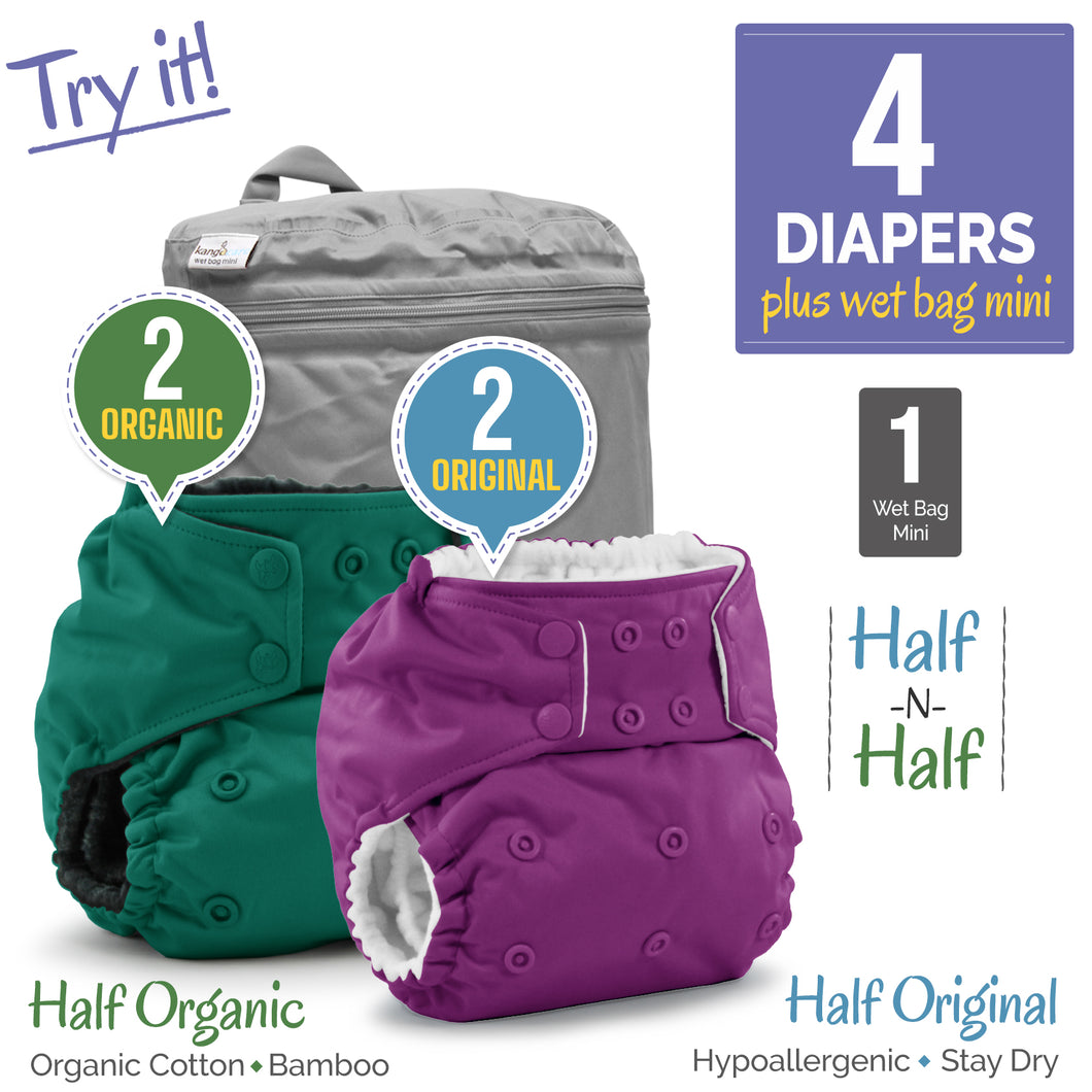 Rumparooz One Size Diaper Package