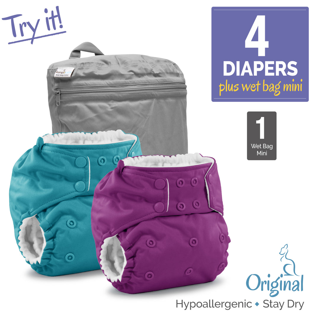 Try It One Size Diaper Package
