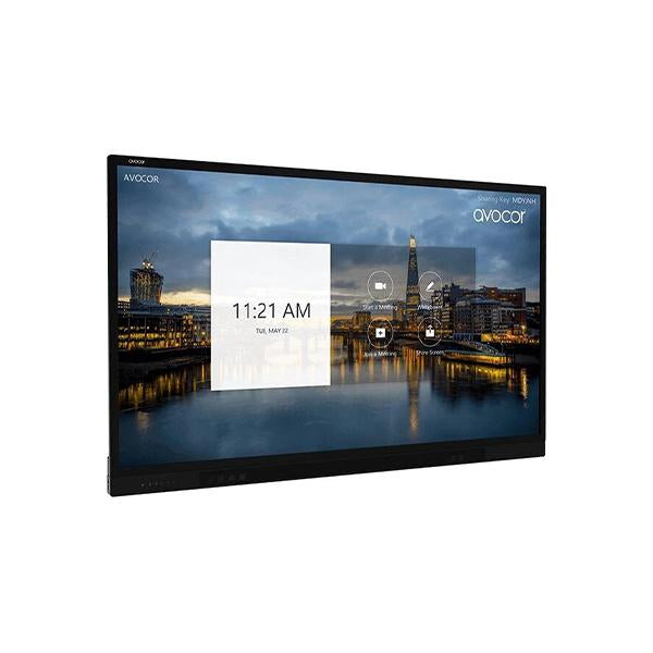 Avocor F50 Series 75 Inch 4K UHD Interactive Touch Screen with Anti Glare Display (AVF-7550)