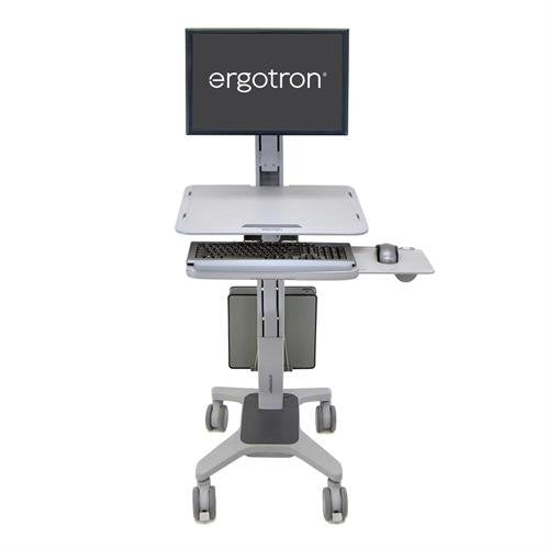 Ergotron WorkFit-C, Single LD Sit-Stand Workstation (24-198-055)