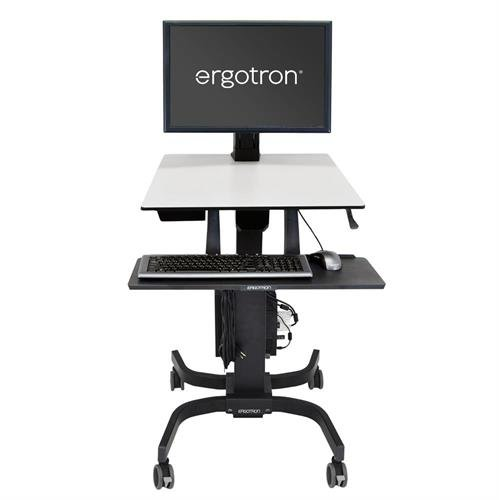 Ergotron WorkFit-C, Single HD Sit-Stand Workstation (24-216-085)
