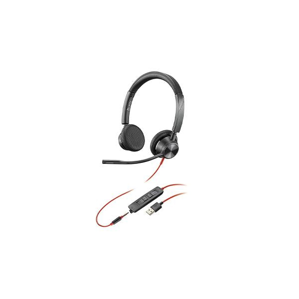 Blackwire 3300 Series Corded UC headset