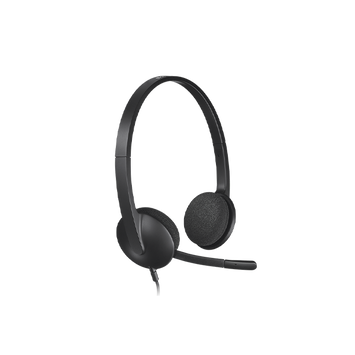 Logitech H340 USB Headset with Noise-Cancelling Mic (981-000477)