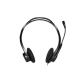 Logitech H370 USB Headset with Noise-Canceling Microphone (981-000710)