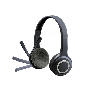 Logitech H600 Wireless Headset with Noise-Cancelling Mic (981-000504)