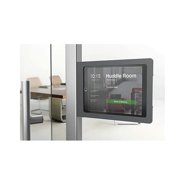 Heckler Side Mount Secure Enclosure for iPad 10.2-inch for Room Scheduling (Colour Variants – [BG] Black Gray 80% and [GW] Gray White 20% of overall stock count) (H604-BG)