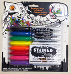 Color Your World, Sharpie 'Stained' Permanent Color Fabric Marker Set