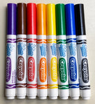 Color Your World, Crayola Washable Color Marker Set