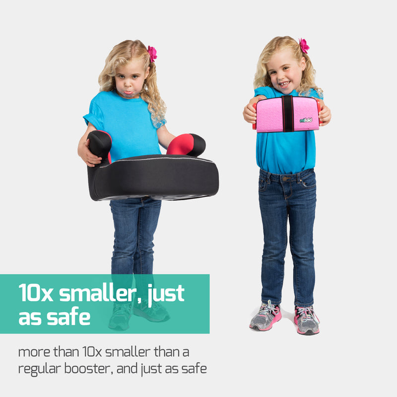 mifold, the grab-and-go car seat (Perfect Pink)