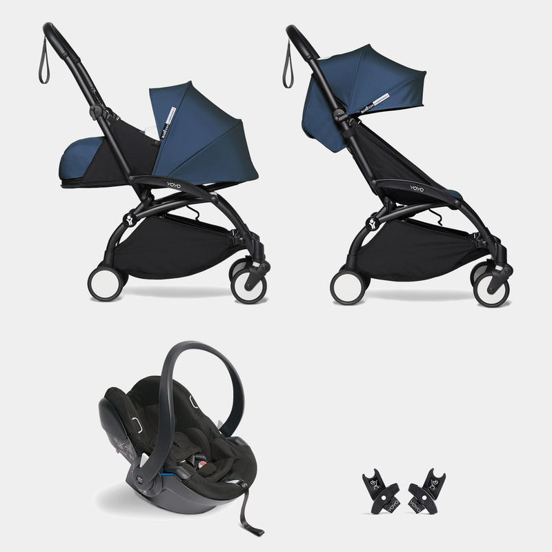 YOYO travel system with car seat (Air France blue)