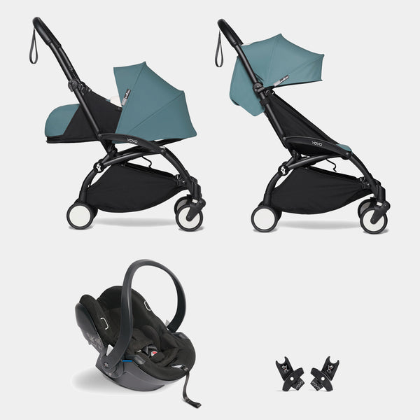 YOYO travel system with car seat (Aqua)