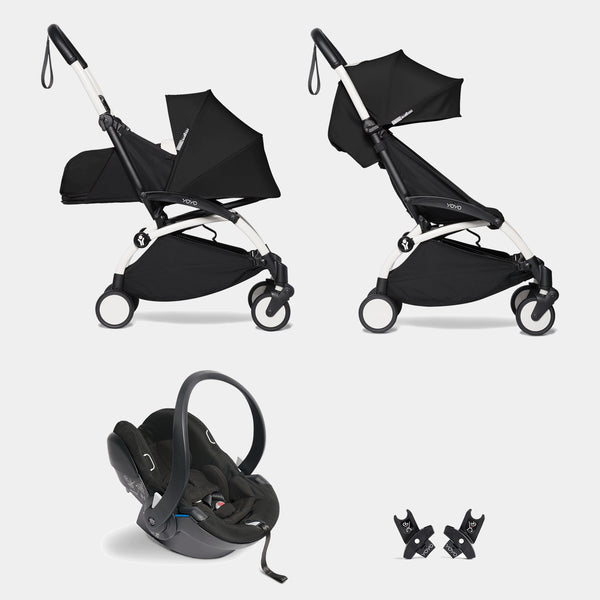 YOYO travel system with car seat (Black)
