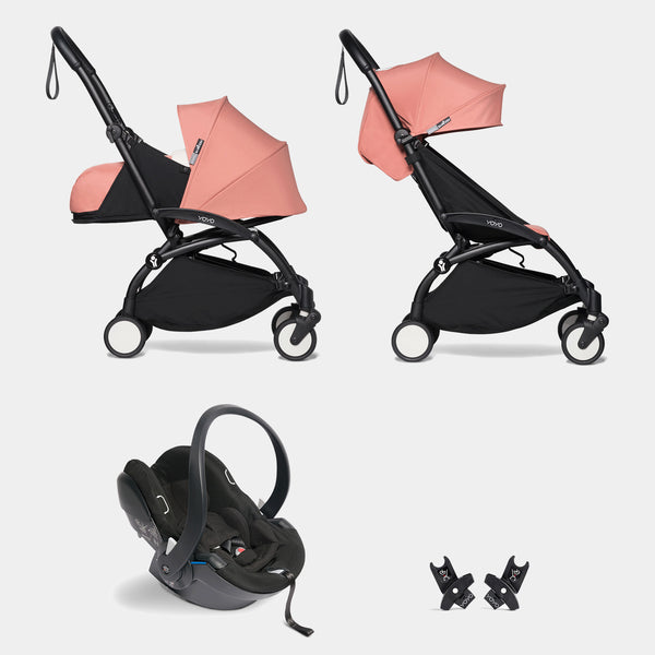 YOYO travel system with car seat (Ginger)