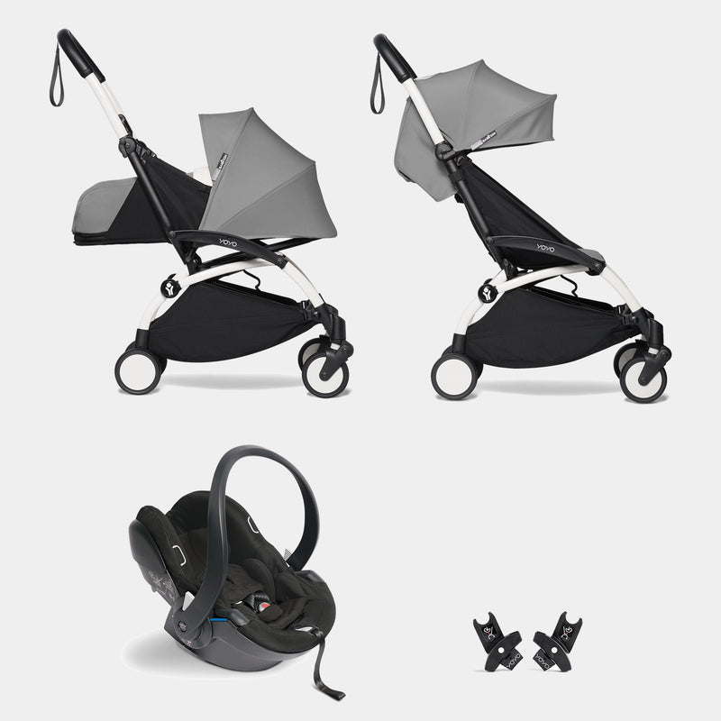 YOYO travel system with car seat (Grey)