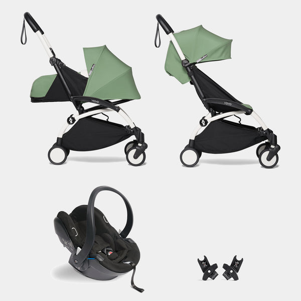 YOYO travel system with car seat (Peppermint)