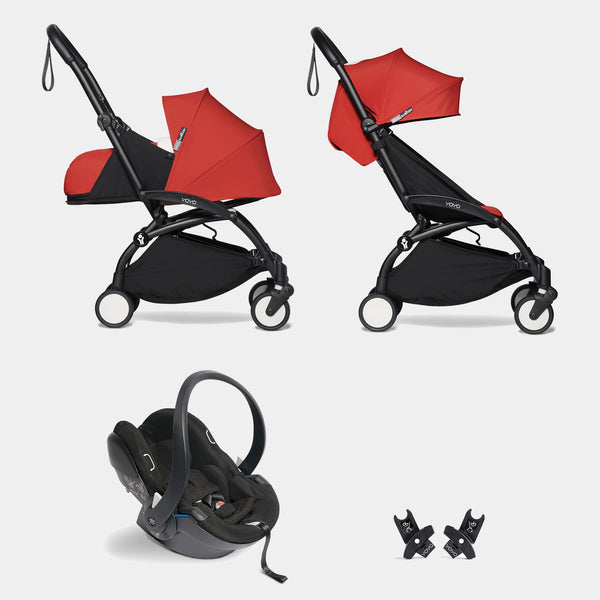 YOYO travel system with car seat (Red)