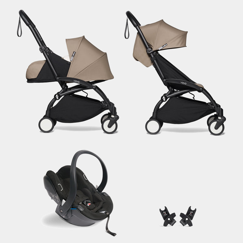 YOYO travel system with car seat (Taupe)