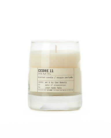 Cedre 11 Classic Candle