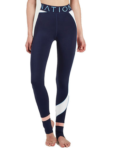 P.E Nation - Speedwork Legging - Navy