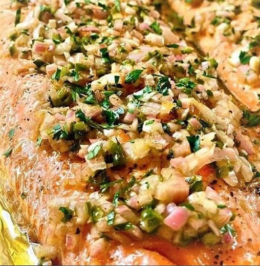 Ginger Honey Soy Salmon