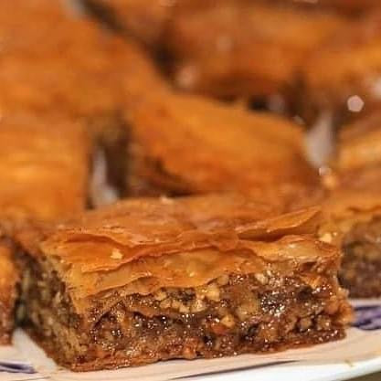 Honey and Blood Orange Baklava