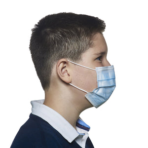 THD Facemask F3 bluebarrier II - Junior - 20 pezzi