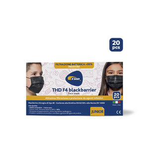 THD Facemask F4 - Nera - Junior