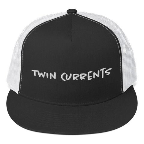 Twin Currents Flat Back Hat