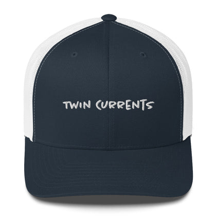 Twin Currents Trucker Hat