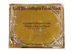 Face Masks 24K GOLD Premium Collagen Bio Crystal Anti Ageing Skin Care Moisture