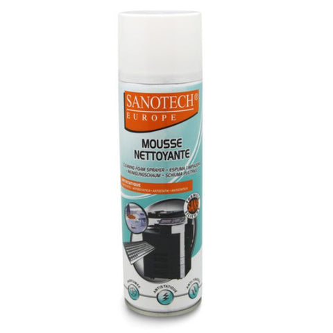 Mousse nettoyante antistatique 650 ml