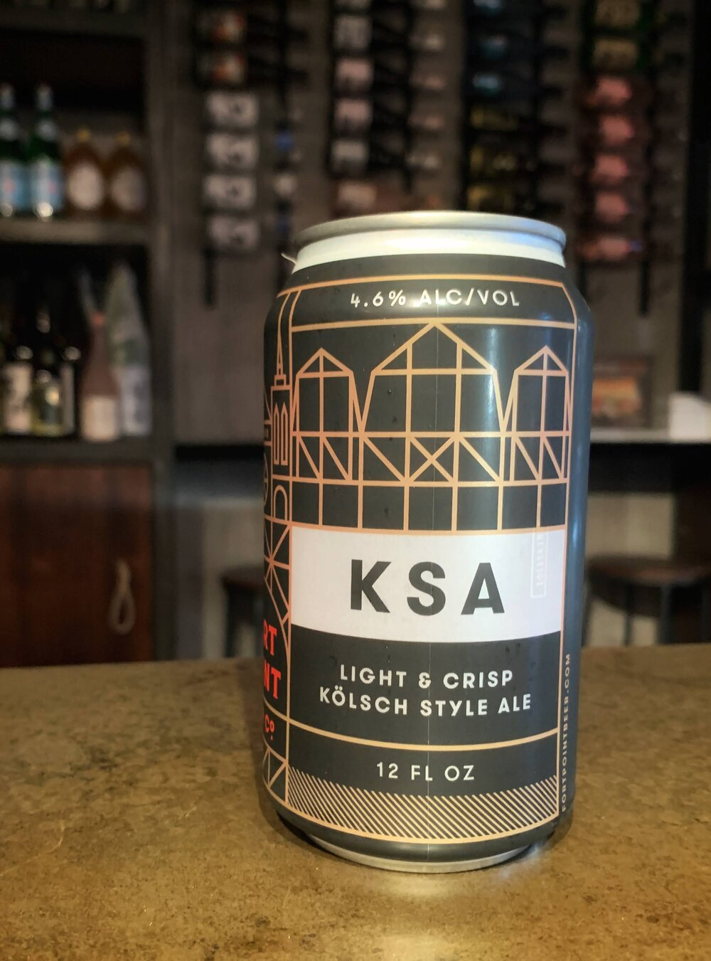 Fort Point KSA Kolsch - 12oz
