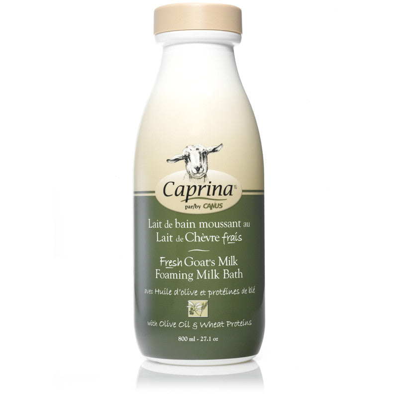 Caprina Foaming Milk Bath Olive Oil & Wheat Proteins