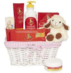 The Li'l Goat's Perfect Blue Baby Basket